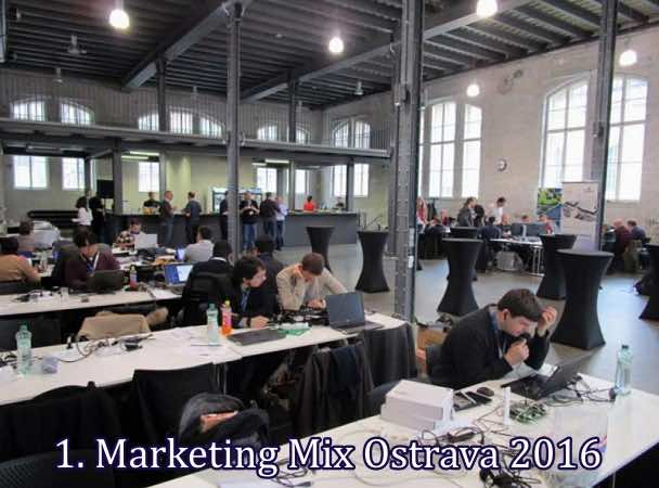 Na veletrh Marketing Mix 2016 do Ostravy.