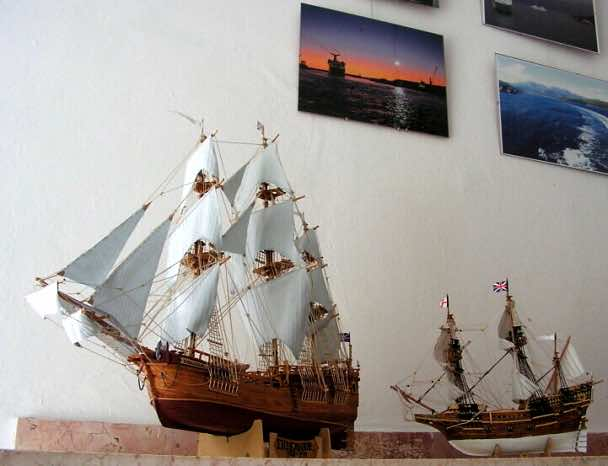 Mořská výstava v Brně na obraze, v modelu i fotografii